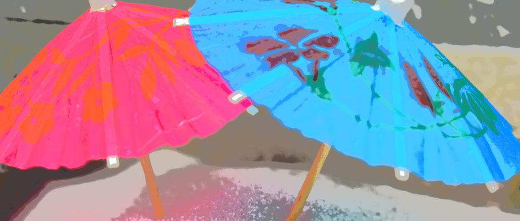 Am Sandstrand mit einem Glas kühle Limonade liegen - der perfekte Sommertag! Da vergisst man leicht den richtigen Sonnenschutz. Ein einfacher Sonnenschirm genügt nämlich oft nicht.