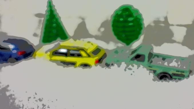Der Morgen nach dem Schneesturm: Wo habe ich bloß mein Auto geparkt!?