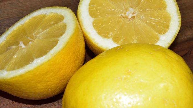 Jetzt gibt's Saures... die Powerfrucht Zitrone ist ein wahres Wundermittel !