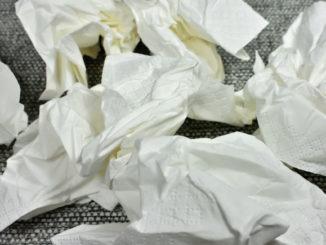 Hatschi ! Gesundheit... bei Erkältung hilft nur warten und eine große Portion Taschentücher.