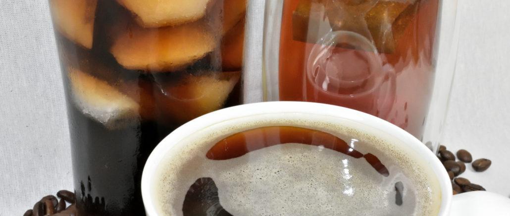 Cola, schwarzer Tee, Kaffee - die psychoaktive Substanz Koffein steckt in vielen Lebensmitteln.