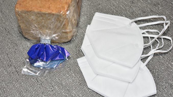 Eine Packung Toastbrot und ein paar Schutzmasken - das sind schon alle Zutaten, die Sie für diesen genialen Lifehack brauchen.